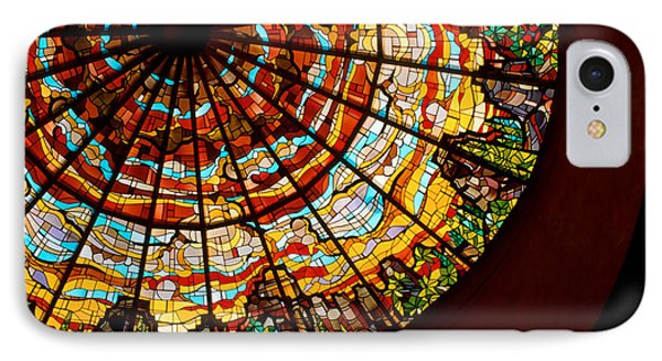 Stained Glass Ceiling Phone Case by Jerry McElroy