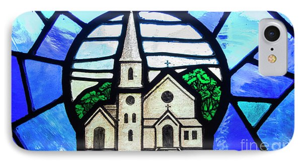 Stained Glass Church IPhone Case by Juli Scalzi
