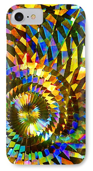 IPhone Case featuring the photograph Stained Glass Fantasy 1 by Francesa Miller