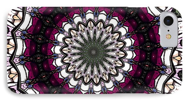 Stained Glass Kaleidoscope 4 IPhone Case by Rose Santuci-Sofranko