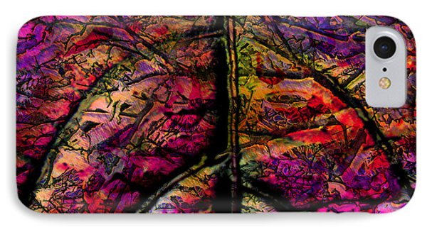 Stained Glass Not Phone Case by Barbara Berney