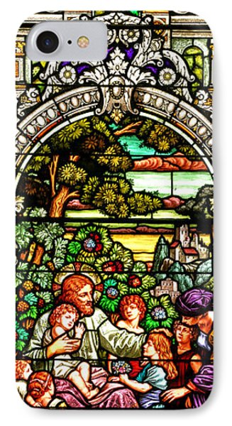 IPhone Case featuring the photograph Stained Glass Scene 12 by Adam Jewell