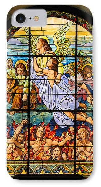 IPhone Case featuring the photograph Stained Glass Window by Elizabeth Budd