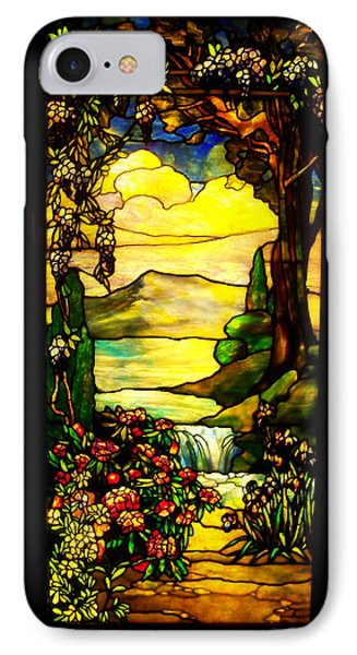Stained Landscape Phone Case by Donna Blackhall