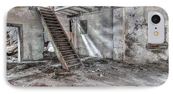 IPhone Case featuring the photograph Stair In Old Abandoned  Building by Michal Boubin