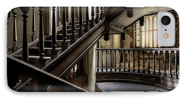 Staircase Rhythm - Abandoned Castle IPhone Case