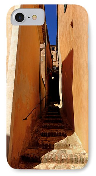 IPhone Case featuring the photograph Stairs In Roussillon by Olivier Le Queinec
