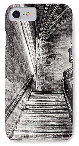 Stairs Of The Past Phone Case by CJ Schmit