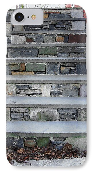 Stairs To The Plague House IPhone Case by RC DeWinter