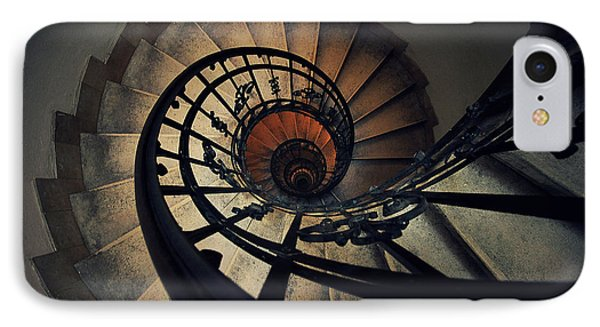 Stairs IPhone Case by Zoltan Toth