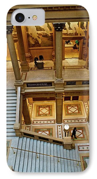 Stairway Architecture Carnegie Art Musem IPhone Case