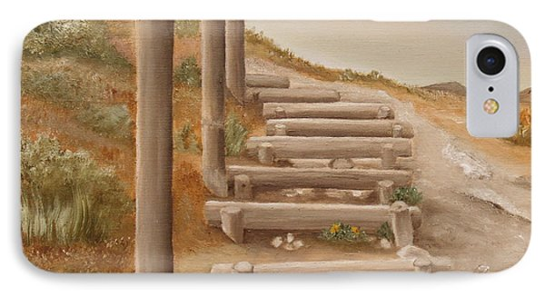 Stairway From The Beach IPhone Case