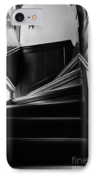 IPhone Case featuring the photograph Stairway In Amsterdam Bw by RicardMN Photography