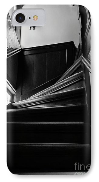 Stairway In Amsterdam Bw IPhone Case by RicardMN Photography