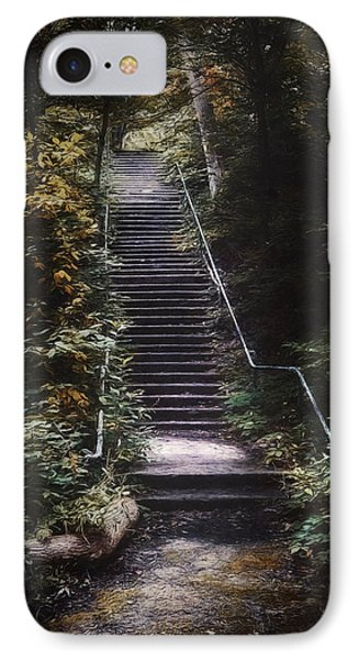 Stairway IPhone Case by Scott Norris