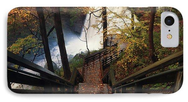 Stairway To Brandywine IPhone Case by Rob Blair