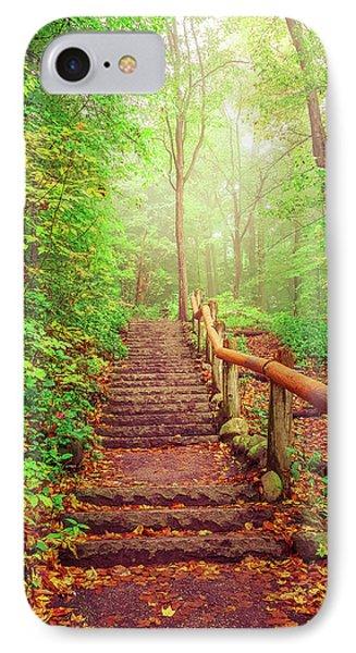 Stairway To Fairyland IPhone Case by Art Spectrum