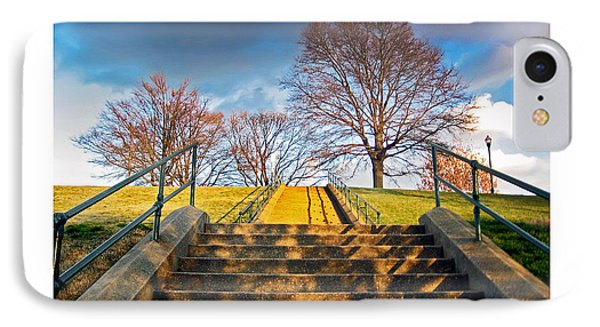 Stairway To Federal Hill IPhone Case by Brian Wallace