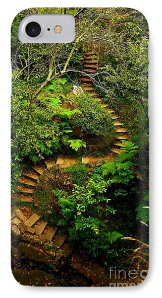 Stairway To Heaven IPhone Case by Blair Stuart