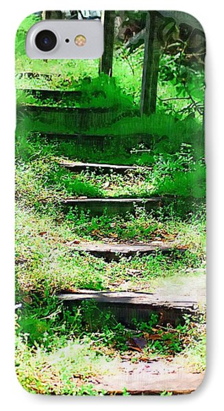 IPhone Case featuring the photograph Stairway To Heaven by Donna Bentley