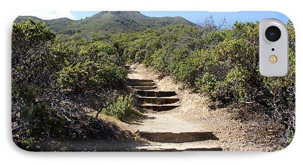 Stairway To Heaven On Mt Tamalpais IPhone Case by Ben Upham III