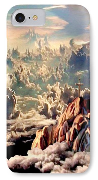 Stairway To Heaven IPhone Case by Ron Chambers