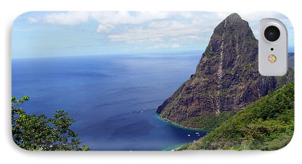 IPhone Case featuring the photograph Stairway To Heaven View, Pitons, St. Lucia by Kurt Van Wagner