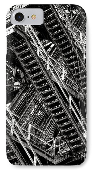 Stairwell Hell IPhone Case by Olivier Le Queinec