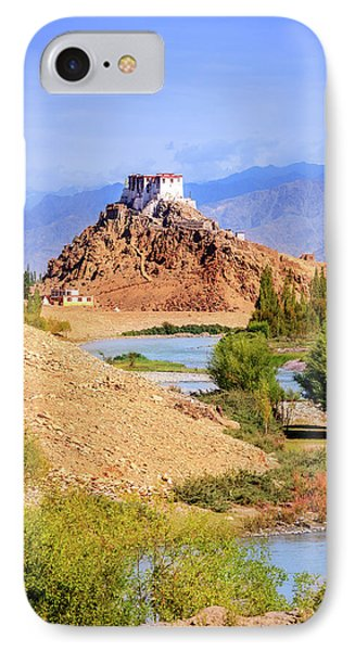 IPhone Case featuring the photograph Stakna Monastery by Alexey Stiop
