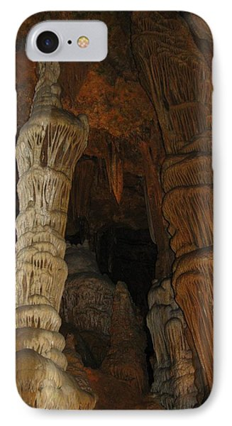 Stalacmites In Luray Caverns Va  IPhone Case by Ausra Huntington nee Paulauskaite