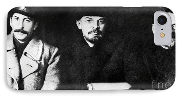 Stalin, Lenin & Trotsky Phone Case by Granger