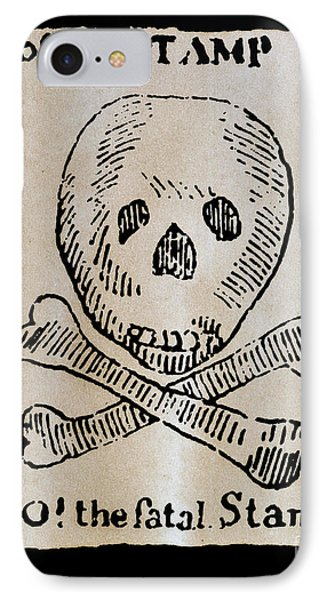 Stamp Act: Cartoon, 1765 Phone Case by Granger