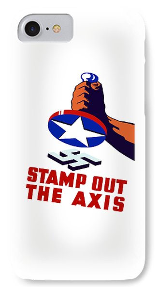 Stamp Out The Axis Phone Case by War Is Hell Store
