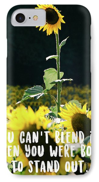 IPhone Case featuring the photograph Stand Out by Andrea Anderegg