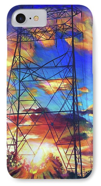 Stand Tall IPhone Case by Bonnie Lambert