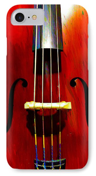 Stand Up Bass Phone Case by Bill Cannon