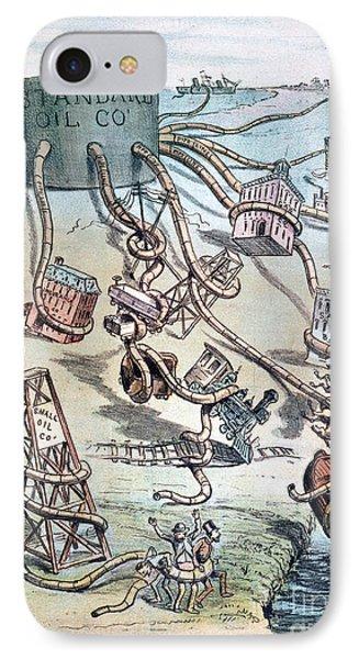 Standard Oil Cartoon Phone Case by Granger