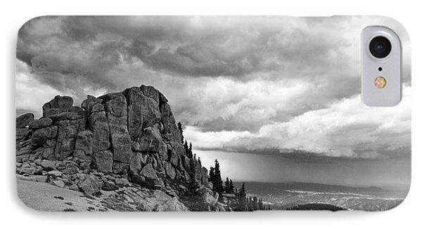 Standing Against The Storm Phone Case by Scott Pellegrin