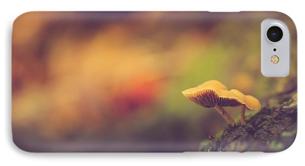 Standing At The Edge IPhone 7 Case by Shane Holsclaw