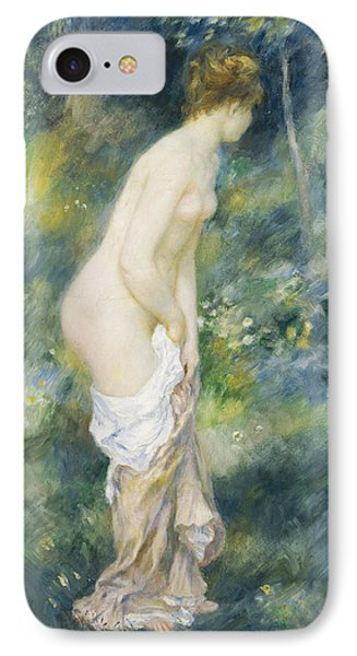 Standing Bather Phone Case by Pierre Auguste Renoir