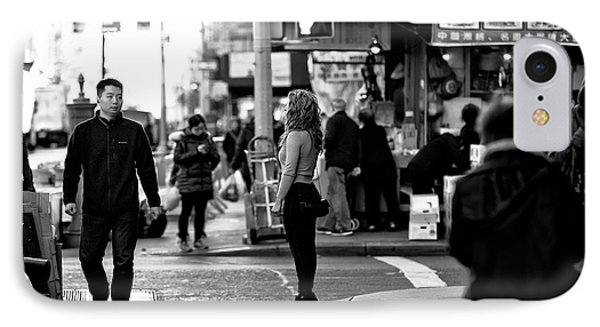 Standing In The Street IPhone Case by John Rizzuto