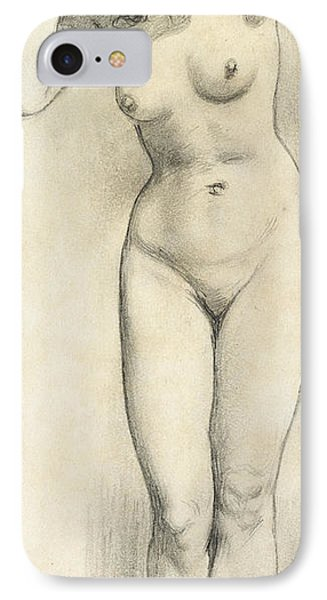 Standing Nude IPhone Case