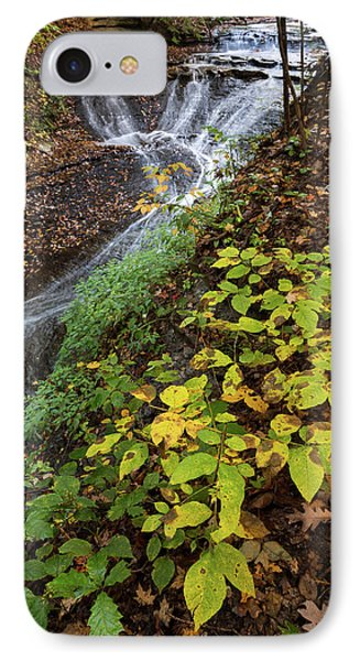 IPhone Case featuring the photograph Standing On The Edge by Dale Kincaid