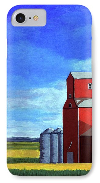 IPhone Case featuring the painting Standing Tall by Linda Apple