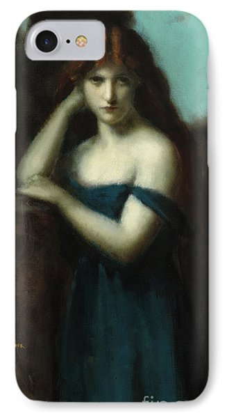 Standing Woman IPhone Case