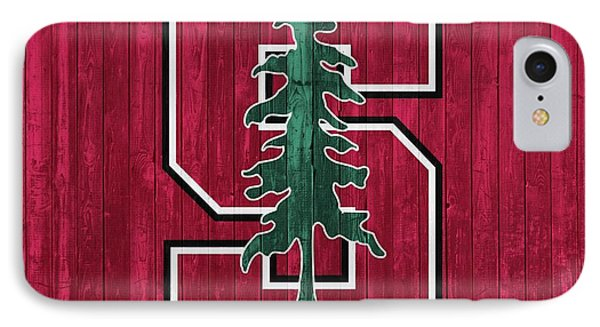 Stanford Barn Door IPhone Case by Dan Sproul
