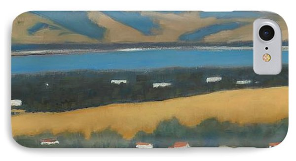IPhone Case featuring the painting Stanford By The Bay by Gary Coleman