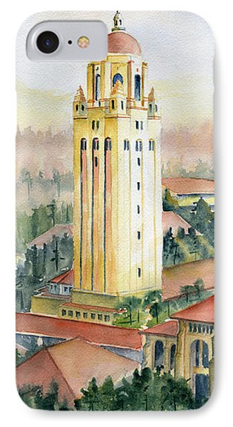 Stanford University California IPhone Case by Melly Terpening