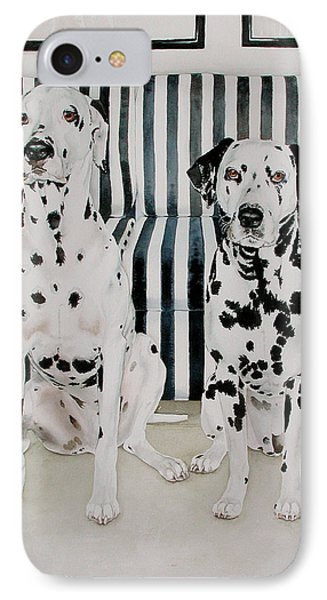 Stanley And Stelle Phone Case by Eileen Hale