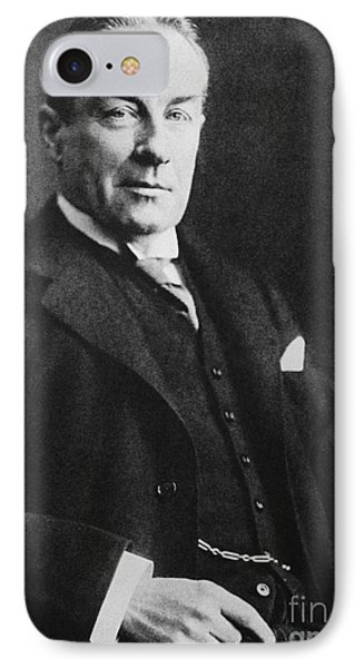 Stanley Baldwin, English Politician Phone Case by Photo Researchers